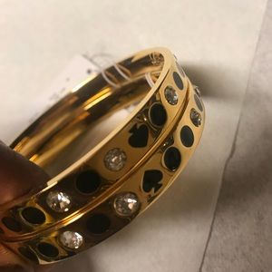 2 Nos Authentic Kate Spade Space Bangles. NWT
